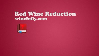 Red Wine reduction sauce