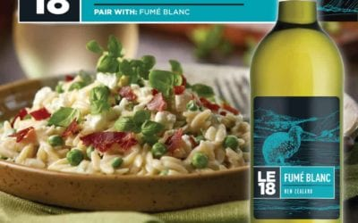 Recipe: Orzo with peas and goat cheese