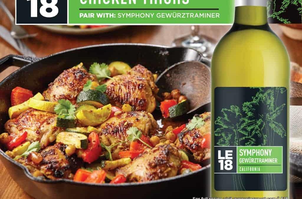 Recipe: Mango Curry Chicken Thighs