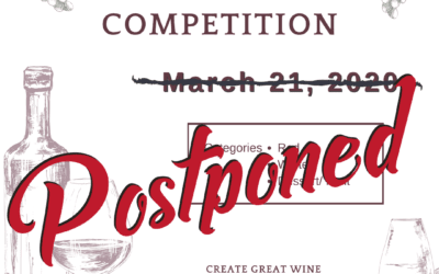 2020 Wine Tasting Competition – Postponed